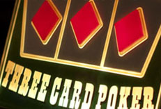 Casino Party Events rental Three Card Poker, Three Card Poker for rent Party Kings in Vancouver BC