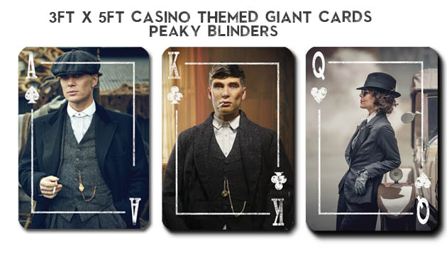 Rental Peaky Blinders Decoration Themed Party. Casino party theme hire from Peaky Blinders. Recreate the glitz of Vegas and put on a casino party to remember! Peaky Blinders themed parties & events. Themed Decorations Peaky Blinders and Props - Fun Event Party Kings in Vancouver BC...