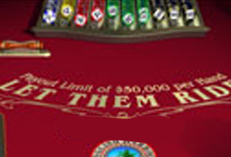 Casino Party Events rental Let It Ride Poker, Let It Ride Poker for rent Party Kings in Vancouver BC
